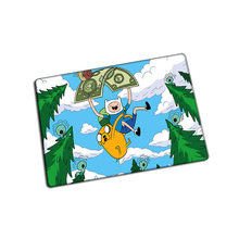 Adventure Time mouse pad  Customized game pad to mouse notebook computer mouse mat brand gaming mousepad gamer laptop
