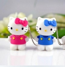 Real capacityUSB Flash Drive memory 8GB USB 2.0 Flash Memory Stick  lovely kt cat usb flash drive personality S13 no chian
