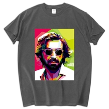 Italian Andrea Pirlo Juventus T-shirt For Men Fashion Short Sleeve Casual DIY Cotton Tee Shirts High Quality Summer Men Tops