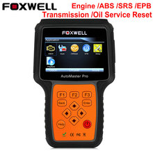 Universal Car OBD 2 Diagnostic Tool Foxwell NT614 Pro Engine Transmission ABS Airbag SRS Automotive Scanner Lifetime Free Update(China)