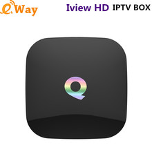 Q box 2G 8G Iview HD iptv Set top box with Greek RU TV channel Arab Europe Sport TV list Italy Turkish Albanian sports programme