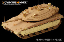 Voyager MODEL 1/35 SCALE military models#PEA267 IDF Merkava MBT IV WindBreaker Active Protection System (GP) Metal model kit
