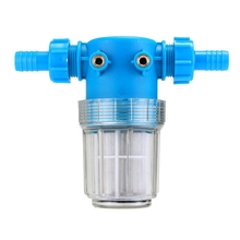 "Pressure Washer Water Filter In Line High Pressure Cleaning Machine Parts 3/4"" 20mm Hose Inlet Quick Connect 100 Mesh(China)"