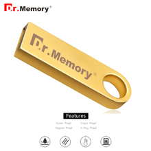 Dr.memory tiny USB Flash Drive metal Pen Drive USB 2.0 Gift 4GB 8GB 16GB 32GB Pendrive USB Stick USB 2.0 waterproof flash stick