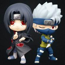 Japan Naruto Cute Ver. Hatake Kakashi Action Figure 16CM painted figure Q Uchiha Itachi Doll PVC Toy Brinquedos - Model Zone Store store