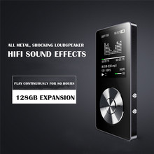 New Model 8GB MP3 Player Speaker Music Player HIFI LCD Display with Recorder FM Radio Video Mini Speaker Recorder Mini Radio(China)