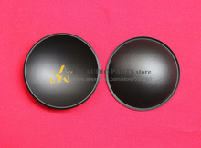 2 pieces OD: 60mm woofer bass loudspeaker speaker Plastic PP DOME DUST CAP(China)