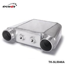 "PIVOT- Turbo Water to Air Intercooler 250 X 220 X 115mm Inlet/Outlet: 3.5"" Front Mount Aluminum Turbo Intercooler TK-SL5046A"