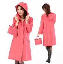 raincoat women breathable thin portable rain coat poncho trench female waterproof capa de chuva chubasquero  impermeable mujer
