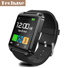 Techase U8 Bluetooth Smart Watch Sport Wearable Devices Electronic Wrist Watches Support Android IOS SYNC Cheap Smartwatch 1.44""