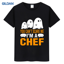 Keep Calm I'm A Chef - Cook Restaurant Kitchen Gift 2017 Men T-Shirt Summer Funny T Shirt Cotton Tee Shirt Funny Camisa(China)