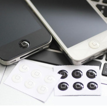 Wholesale 330 pcs/lots  Home Button Sticker For iPhone 7/7 plus/6Plus/6 5S/5 4/4S iPad 2 3 mini Classical Black White