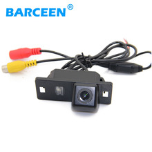 Plastic Shell material car parking camera with HD CCD waterproof product for Audi A4L 2013~2014 / TT/ A5/ A6/Q5(China)