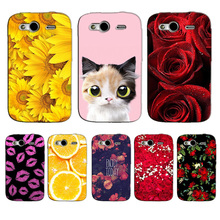for HTC Wildfire S G13 Case Flower Cat UV Printed Cover Coque for HTC Wildfire S G13 A510e Case Hard Plastic Back Cover Fundas