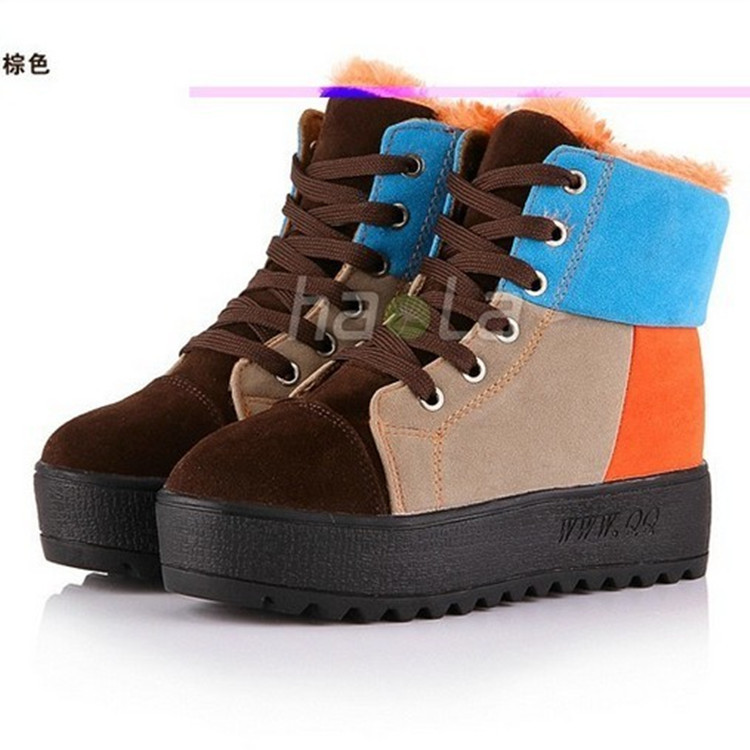 Autumn Boots Real Pu 2017 Autumn Winter Women New Fashion Martin Boots Thick High-heeled Worm Casuanl Crust British Motorcycle<br><br>Aliexpress
