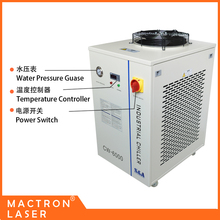 CW6000DN Water Cooled Chiller System, Co2 Laser Machine Parts Water Chiller