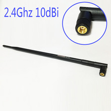 2.4Ghz 10dbi Wifi Antenna Omni 2400-2500Mhz RP-SMA connector Wireless Router WiFi Amplifier For PCI Card USB Modem EL0428