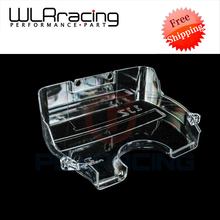WLRING STORE Free shipping- NEW racing clear pulley cover/timing belt cover/cam gear cover for TOYOTA SUPRA 1JZ WLR6336