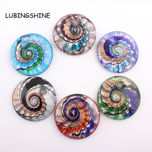 2016 New Arrival Unique Lampwork Art Glaze Murano Glass Pendants Fit for Necklace Girl DIY Gift Charms Jewelry Making vaso C318(China)