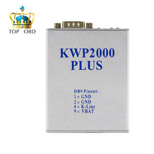 Hot Selling KWP2000 Plus OBDII OBD2 ECU Chip Tuning Tool KWP 2000 ECU Plus ECU Flasher Smart Remapping Decode Free Ship(China)