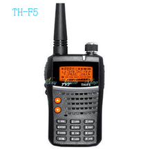 walkie talkie TYT TH-F5 two way radio transceiver 5W 1500mAh battery  TYT TH F5 Meter Amateur Radio ham handheld UHF 400-470MHz