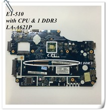 For Acer Aspire E1 Series E1-510 Laptop Motherboard motherboard with CPU Z5WE3 LA-A621P DDR3 NBY4711002 100% tested