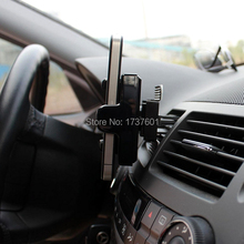 2015 Newest universal car air outlet mobile phone holder cover stand for iphone htc PDA mp3 auto accessories 10/lot