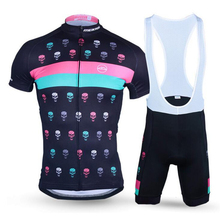 Buy CKAHSBI Cycling Jerseys BIB Short Set Men Short Sleeve Gel Pad Bicycle Sets Cycling Clothing 2017 Hot Bike Ropa Ciclismo MTB for $32.28 in AliExpress store