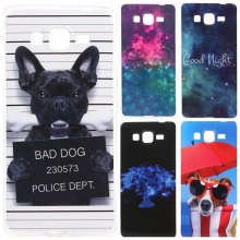 Funny Cartoon Design Case Cover For Samsung Galaxy Grand Prime G530 G530H G531 SM-G531H SM-G531F Soft Silicone TPU Phone Cases