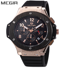 Buy MEGIR Watch Men Gold Chronograph Sport Mens Watches Top Brand Luxury Military Quartz Men's Watch Wrist Clock Male montre homme for $24.00 in AliExpress store