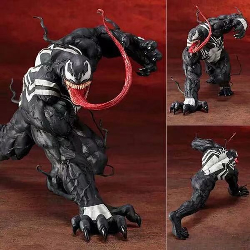 ARTFX Movie The Amazing Venom SpiderMan Figure Toy Venom ARTFX 110 Scale PVC Action Figures Toy (1)