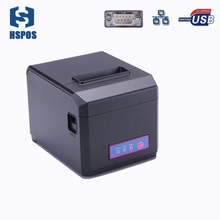 80mm and 58mm pos thermal slip printer with auto cutter usb serial lan interface high speed 300mm/s multi functional printing
