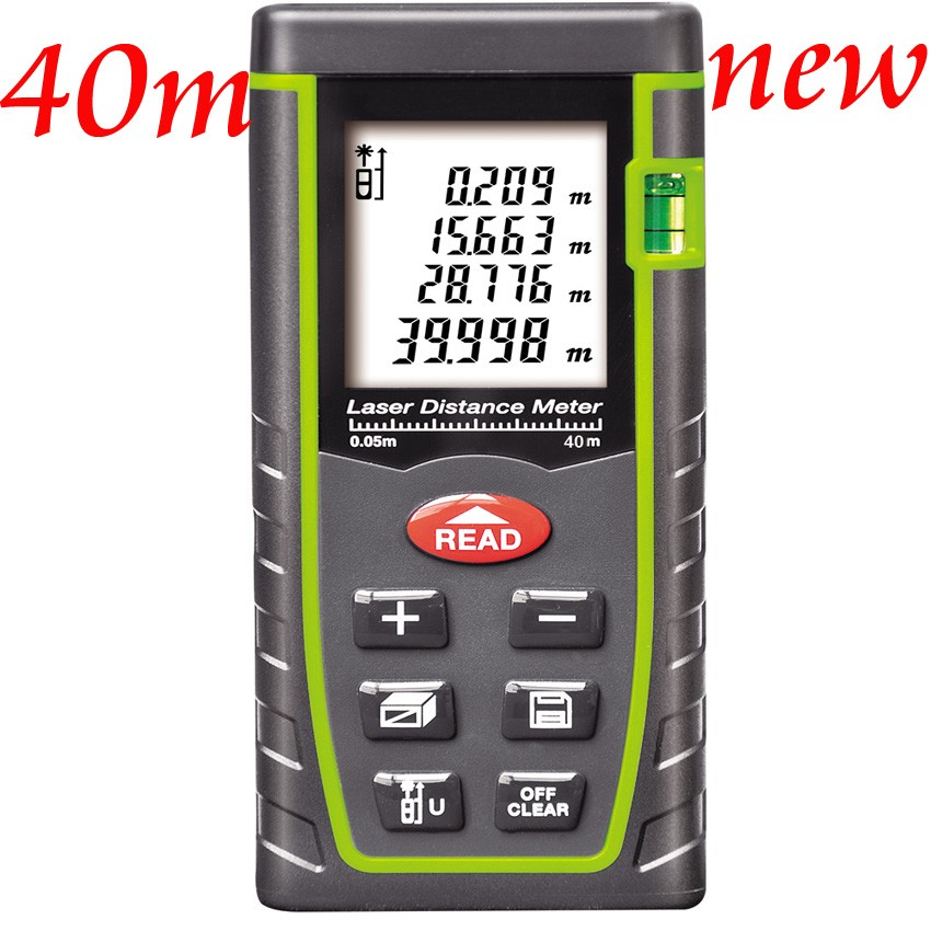Laser Distance Meter 40M 60M 80M Laser Rangefinder Range Finder Digital Laser Tape Measure Area/volume Angel M/Ft/in Tool<br><br>Aliexpress