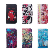 For LG K10 K7 G5 Phone Case Fashion  Flip Wallet PU Leather Cat Tree Painted phone Case For LG K10 K7 G5 Phone Case