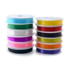 12M 1Roll 0.6mm Colorful Stretchy Elastic Cord Crystal String For Jewelry Making Beading Wire Fishing Thread Rope