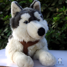 Plush Stuffed Animals Toy Husky Large Dolls Kids Toys Gifts Pillow Simulation Alaskan Sled Dogs Doll(China)