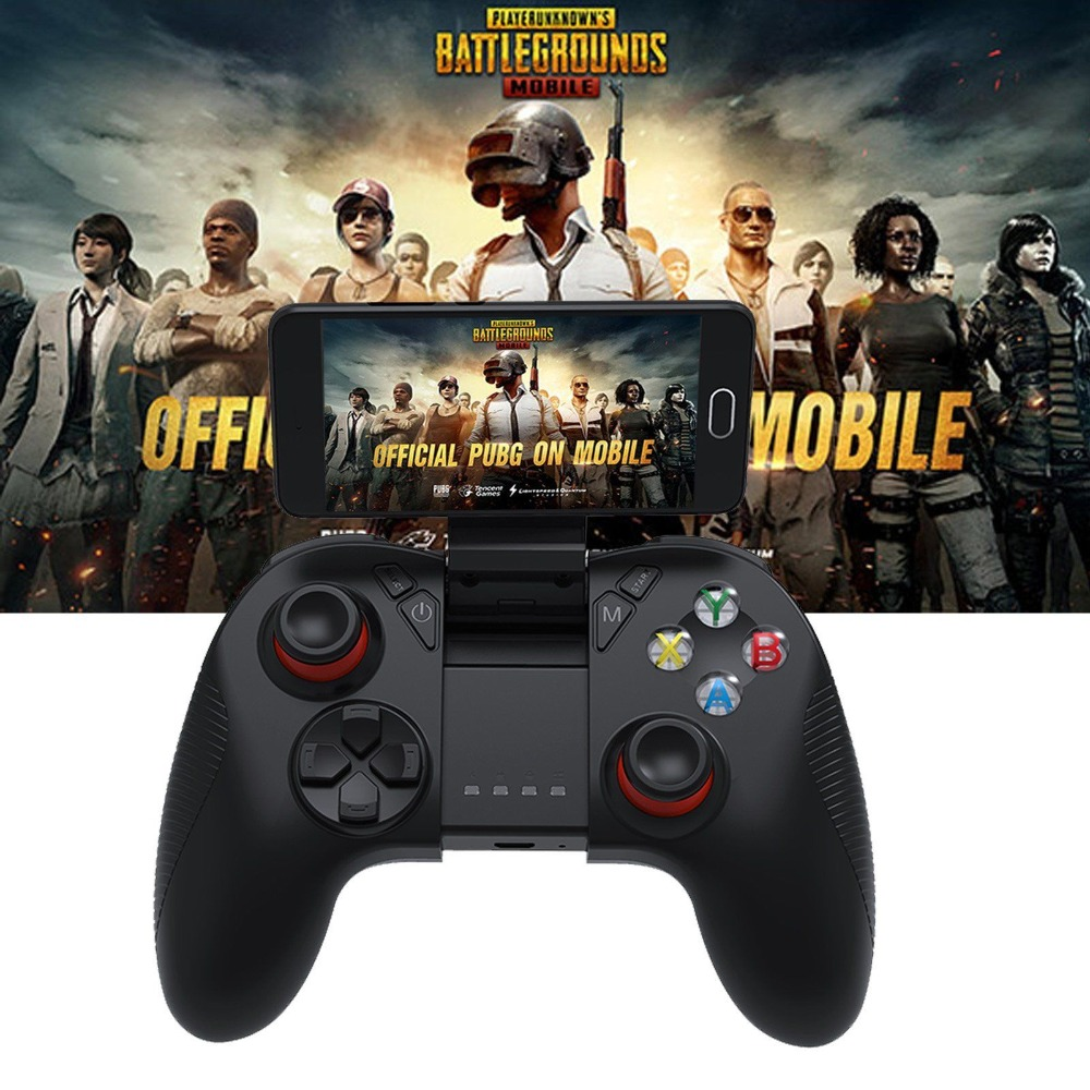 PUBG Wireless Bluetooth Gamepad Remote Game Controller Holder Bracket SC-B04 Joystick iPhone Samsung LG PC Smart Phone