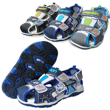 Buy Summer 1pair PU fashion Children Shoes Sandals+inner 16-19.5 cm, Boy Shoes Beach soft shoes, Kid Orthopedic Cheap Shoe for $9.80 in AliExpress store