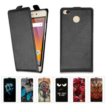 High Quality Flip Leather Case For Xiaomi Redmi 4X Case 5.0 inch Cover Flip Cartoon Case For Xiaomi Redmi 4X 4 X Pro