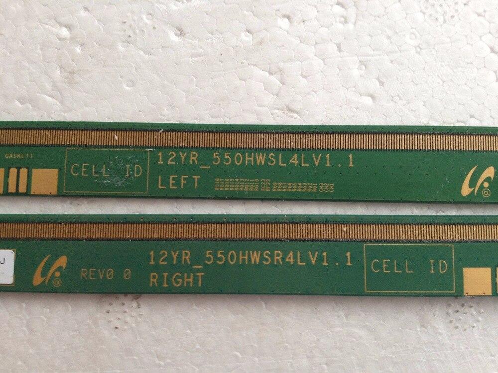 12YR_550HWSR4LV1.1 12YR_550HWSL4LV1.1 LCD Panel PCB Parts A Pair<br>