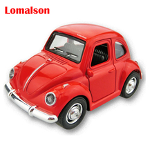 Brand New Classic 1:38 Scale Vintage Classic Cool Diecast Metal Pull Back Car Model Toy For Gift/Kids