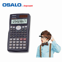 OSALO 991 Scientific Calculator Solar Dual Power 401 Function Calculadora Cientifica Student Calculated Calculator As Gift(China)