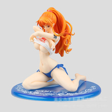 Novelty Kneel Girls Sexy Anime Figure Sex Toy PVC Action Figure Collectible Figuras Anime Model Toys Funny Toys Car ornaments(China)