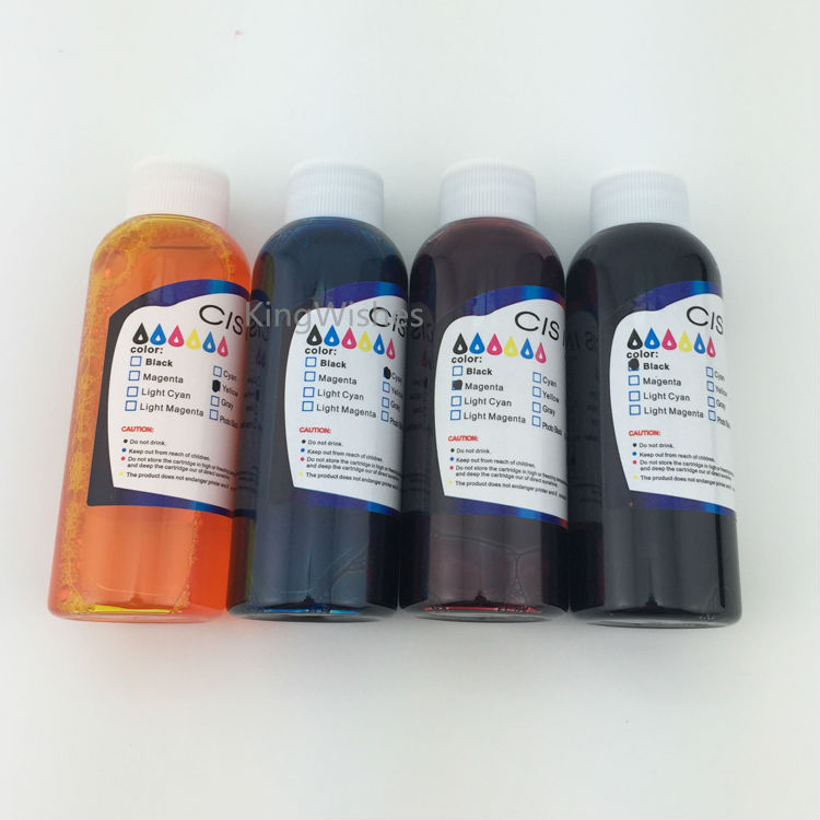 4PCS 100ML T200XL1 T200XL2 T200XL3 T200XL4 Edible Ink For Epson XP200 XP300 XP400 XP310 XP410 XP510 Inkjet Printer<br><br>Aliexpress