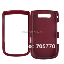 For Blackberry 9800 Rubber Hard Case Plastic Cell Phone Case Free Shipping