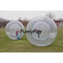 Body Zorb Balls Cheap Zorbing Ball Sale for Kids and Adults,person roll inside rolling down a hill inside giant inflatable balls(China)