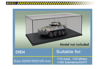 Trumpeter 100% original 09814 model display case display box 325mmx165mmx125mm suitable for scale  miniature military model