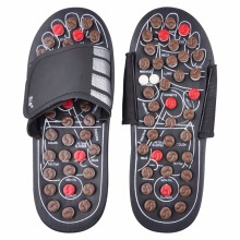 Foot Massage Slippers Health Shoe Sandal Massages Reflexology Feet Elderly Healthy Care Product Rest Pebble Stone Massager Shoes(China)