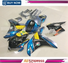 For Honda AGV Rossi VR46 Custom Design CBR1000RR CBR 1000RR 2008-2011 Complete Motorcycle Fairing Kit Plastic Body Cowl