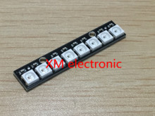 1pcs 8 channel WS2812 5050 RGB LED lights built-in full color-driven development board